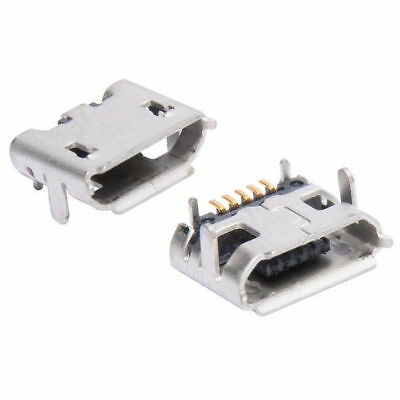 USB Micro B Female 5-pin Charging Port Socket Type 3 Connector Assemble Charge