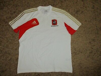 rare ADIDAS trikot MOSCOW shirt jersey oldschool vintage camiseta RUSSIA maillot