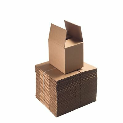 Single Wall Postal Mailing Cardboard Boxes Packaging In All Size High Quality 4U