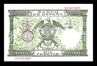 04 2x 1.000 Spanish Pesetas Issue 1974-2 Banknotes