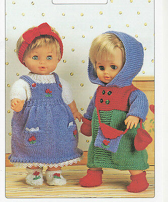 796 Baby Dolls Clothes Knitting Pattern 8 Pieces 155