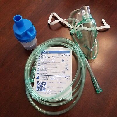 Amsino Medical Adult Aerosol Nebulizer Accessory Kit with Mask Free Shipping
