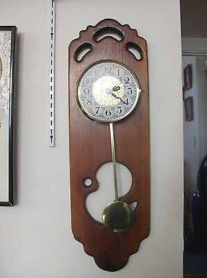 Very Large Wood Pendulum Watertown Minnesota Clock . Made In Germany