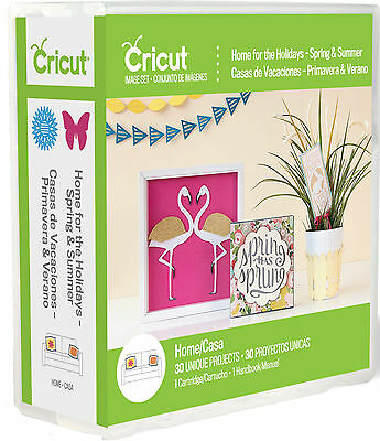 Home For The Holidays- Spring & Summer Cricut Cartridge 2002371 Easter July 4th
