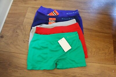 Junior Boys Fit Boxers Seamless 5 Pack Size Large
