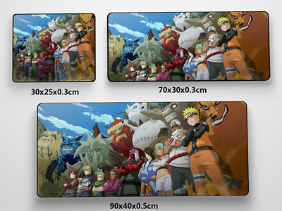 Naruto online Anime Game Mouse Pad Profession PC Large Mats MP017