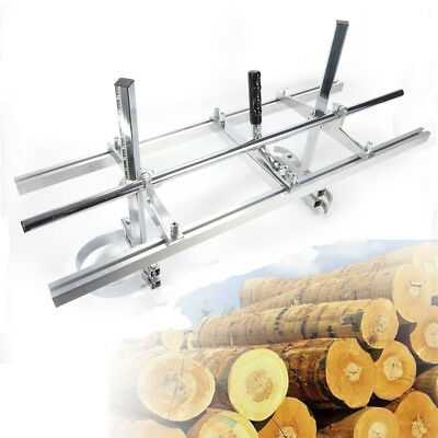 """Chainsaw Mill Log Planking Lumber Cutting Milling Bar Size 14"""" to 36"""" Tools BEST"""
