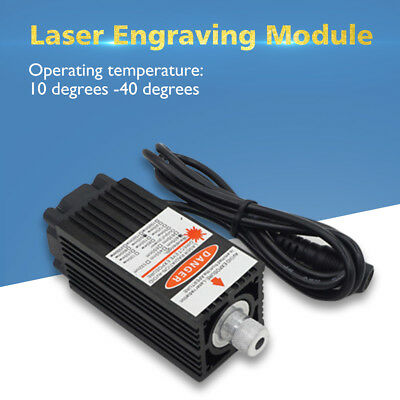 2500mw 405nm Laser Module Engraving Head For USB CNC Cutting Printing Machine