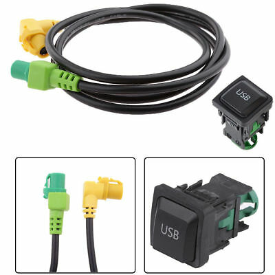 USB Aux Input Switch Socket Replacement For Volkswagen VW Mk6 Go RCD510 RCD310