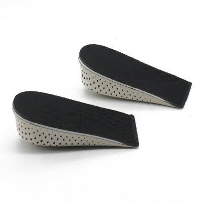 1-3Pair Insole Heel Lift Insert Shoe Pad Height Increase Cushion Elevator Taller
