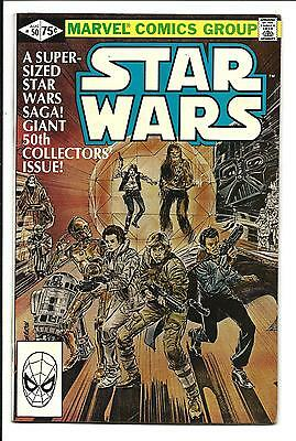 Star Wars # 50 (Marvel Comics, Super-Sized Giant Issue, Aug 1981), Fn/vf