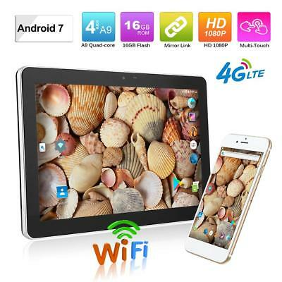 10.1 inch BT4.0 WiFi Android 7.0 Quad Core Car Headrest Monitor Tablet 1GB+ 16GB