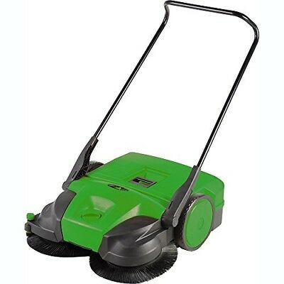 Bissell 31 Battery Powered Triple Brush Push Power Sweeper, 13.2 Gal. Capacity