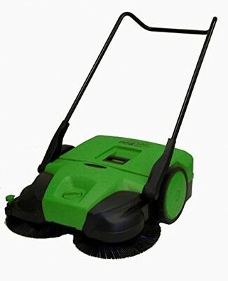 Bissell 38 Deluxe Triple Brush Push Power Sweeper Turbo, 13.2 Gal. Capacity