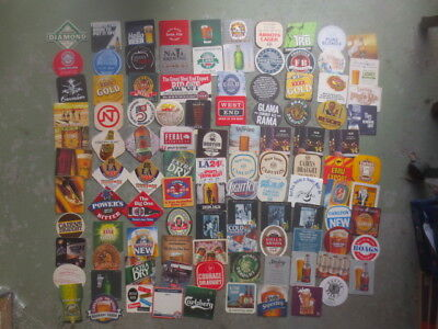 104 different  AUSTRALIAN Breweries Issued  BEER COASTERS