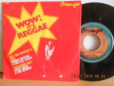 """7"""" 1970 Wow It´s REGGAE! PRINCE BUSTER & THE ALL STARS / OWEN GRAY & The Rudees"""
