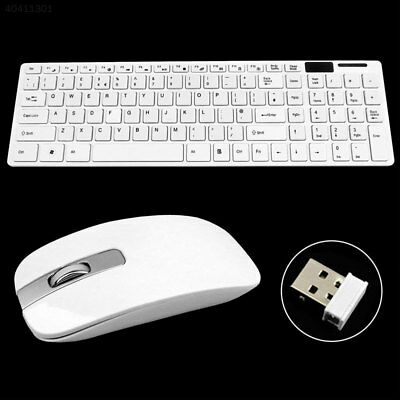 Slim 2.4G Wireless Bluetooth Keyboard and Cordless Mouse Kits For iPad Tablet PC