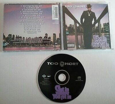 Too $hort (Too Short) - Get In Where You Fit In 1993