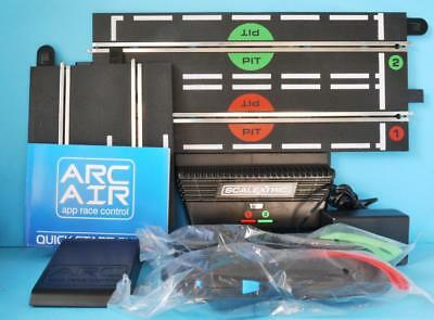 Scalextric C8434 Arc Air App Control, Transformer, Controllers + Start Straight