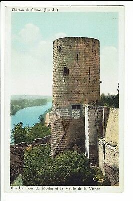 CPA -Carte postale-FRANCE - -Château de Chinon-Tour du Moulin-S1518