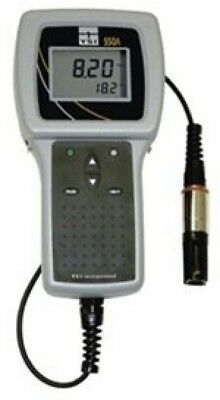 YSI 550A-100CC Handheld Dissolved Oxygen Meter with 100' Cable and Probe with 0