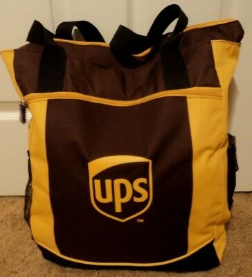 UPS United Parcel Service Carry On Tote Shopping Storage Gym Sports Carry Bag
