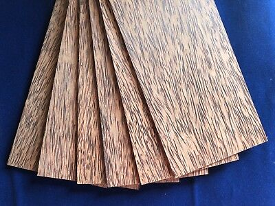 1 × Solid Red Palm/Coconut Palm wood Sheets 3mm, 4mm or 6mm
