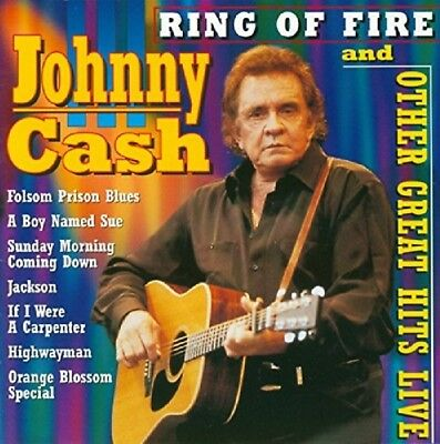 Johnny Cash - Ring Of Fire And Other Great Hits Live (2003) CD | NEU&OVP