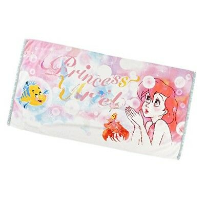 Ariel THE LITTLE MERMAID Bath towel 2018 Disney store official From JAPAN F/S