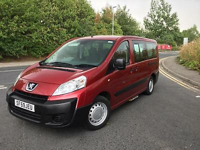 2009 59 Peugeot Expert lwb 1.6HDi tepee wheelchair accessible Comfort