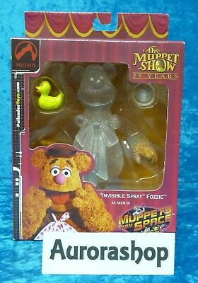 Palisades Toys Box Invisible Spray Fozzie / Jim Hensons Muppets / Muppet Show