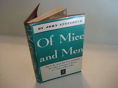 1937 OF MICE AND MEN by John Steinbeck MODERN LIBRARY # 29 VINTAGE Classic Book