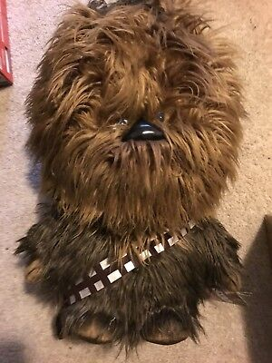 Large Deluxe Chewbacca Talking Plush New With Tags Great For Any Fan