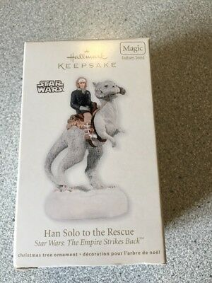 Hallmark Keepsake Han Solo to the Rescue Star Wars Series Ornament
