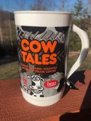 """Goetze's COW TALES Tails 6-1/2"""" Tall Handle Mug NTPA Pull Some Tale  Series #35"""