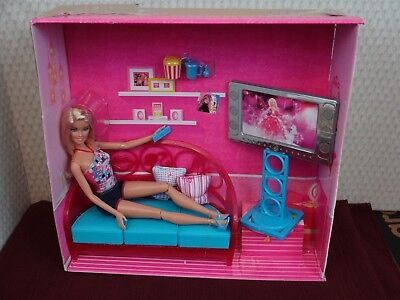 DOLL LIVING ROOM SET Couch Chair 18\