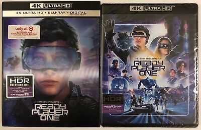 New Ready Player One 4K Ultra Hd Blu Ray Target Exclusive Lenticular Slipcover