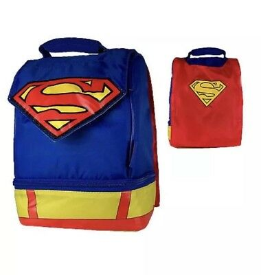 Superman Lunchbox with cape Brand New!