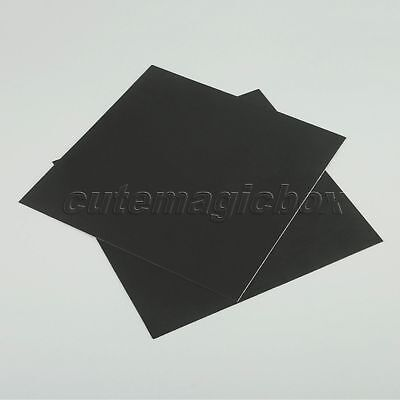 Black 3D Printer Cleaning Heat Bed Platform Sticker 214x214mm Metal 3D Printing
