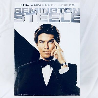Remington Steele: The Complete Series - Seasons 1-5 (DVD, 2017, 17-Disc Box Set)