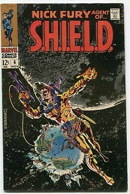 NICK FURY AGENT OF SHIELD #6 Jim Steranko - SEE MORE Silver Age MARVEL