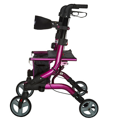 Drive Medical Dynamic Foldable Lightweight Rollator # Q-154000 .... (50% OFF)