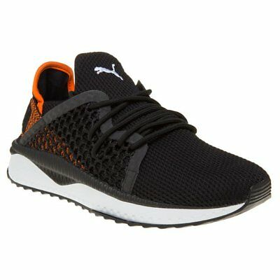 New Mens Puma Black TSUGI Netfit Nylon Trainers Running Style Lace Up bc906ea70