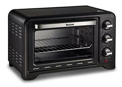 Tefal OF445840 Optimo Mini Oven, 19 L Capacity, With Rotisserie, Stainless