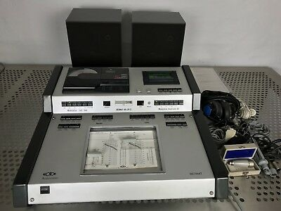 Lot Audiometer Siemens Beoton Beomat 905 Dv-C + Madsen Ob822 Clinical Audiometer