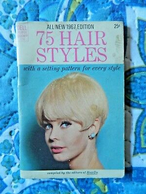All New 1967 Edition 75 Hair Styles Dell Purse Book