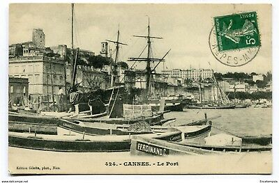 CPA-Carte postale-France-  - Cannes - Le Port ( CP4604 )