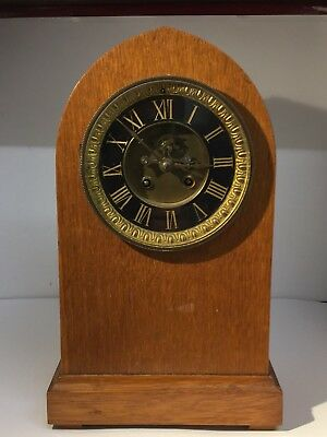 ART DECO Mantle Clock - French Mechanical Movement - Open Escapement - Repairs