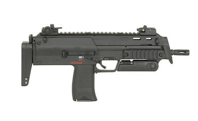 MP7 Submachine Gun / R4 - Airsoft Softair Waffe frei ab 14 Jahren, Komplettpaket