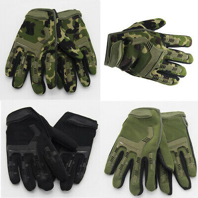 Military Tactical Work Gloves Technician Cycling Outdoor Non-slip Quality NEW
